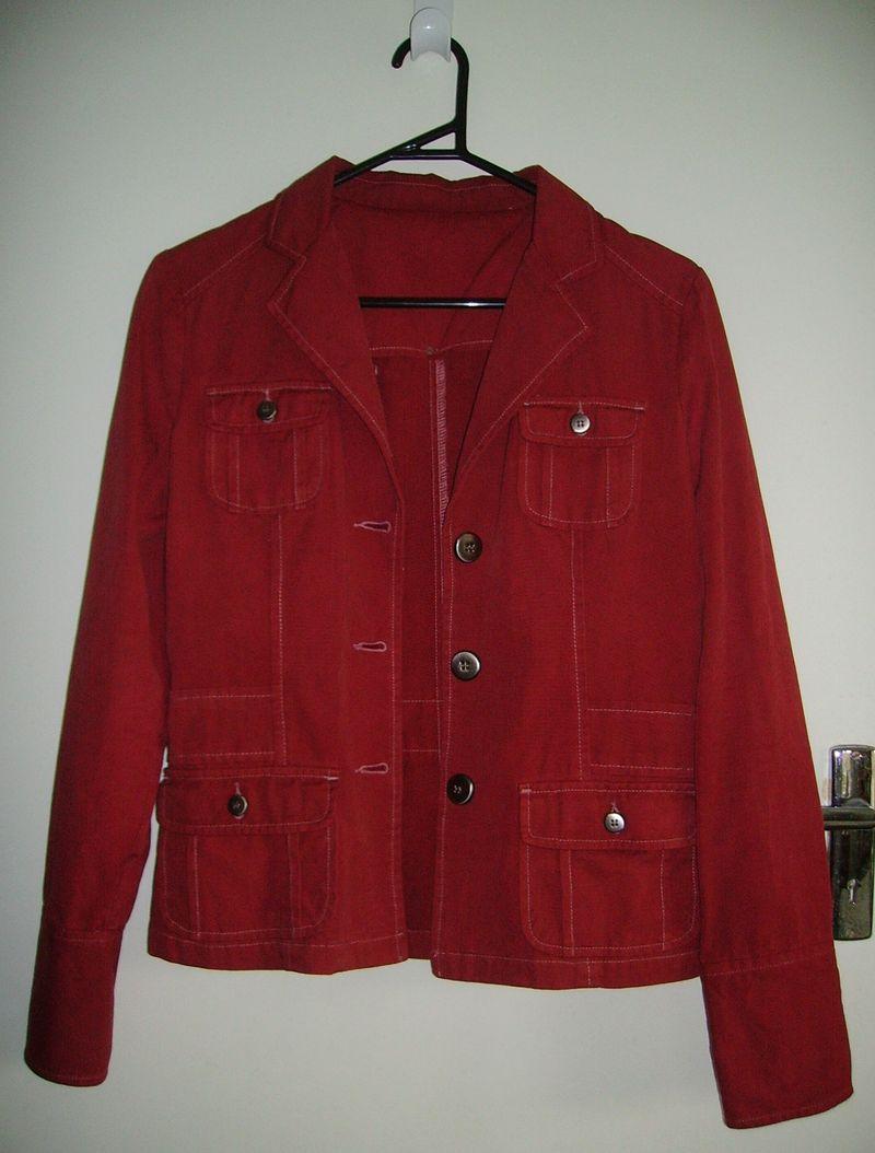 Dyed jacket